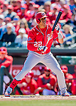 29 February 2020: Washington Nationals left fielder Juan Soto in action during a Spring Training game against the St. Louis Cardinals at Roger Dean Stadium in Jupiter, Florida. The Cardinals defeated the Nationals 6-3 in Grapefruit League play. Mandatory Credit: Ed Wolfstein Photo *** RAW (NEF) Image File Available ***