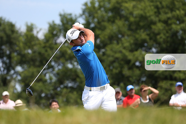 Gary Stal (FRA) during Round Three of the 2015 Alstom Open de France, played at Le Golf National, Saint-Quentin-En-Yvelines, Paris, France. /04/07/2015/. Picture: Golffile | David Lloyd<br /> <br /> All photos usage must carry mandatory copyright credit (&copy; Golffile | David Lloyd)