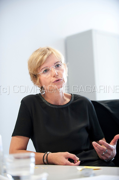 Sylvianne Portugaels, Deputy Director General at the CHR de la Citadelle de Liege public hospital (Belgium, 15/09/2014)