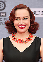 """Los Angeles CA Apr 11: Alicia Malone, arrive to 2019 TCM Classic Film Festival Opening Night Gala And 30th Anniversary Screening Of """"When Harry Met Sally"""", TCL Chinese Theatre, Los Angeles, USA on April 11, 2019 <br /> CAP/MPI/FS<br /> ©FS/MPI/Capital Pictures"""