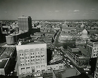 1960 March 3..Redevelopment.Downtown North (R-8)..Downtown Progress..North View from VNB Building..HAYCOX PHOTORAMIC INC..NEG# C-60-5-23.NRHA#..