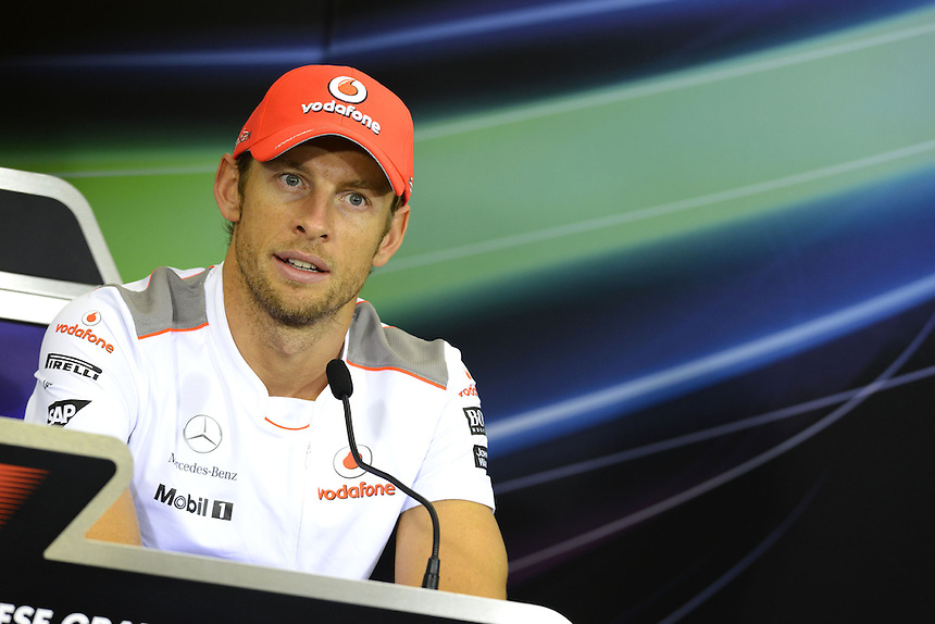 .Jenson Button (GBR),  McLaren F1 Team..2012 FIA Formula One World Championship - Japanese Grand Prix - Suzuka Circuit - Suzuka - Japan - Thursday 4th October 2012...