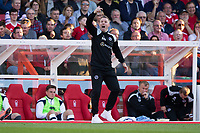 Millwall manager Neil Harris during the Sky Bet Championship match between Nottingham Forest and Millwall at the City Ground, Nottingham, England on 4 August 2017. Photo by James Williamson / PRiME Media Images.