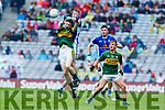 Jack Griffin Kerry in action against Killian Brady Cavan in the All Ireland Minor Semi Final in Croke Park on Sunday.