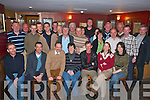 Maurice Kelly Park Drive, Killarney (seated third from left) who was shocked when he walked into O'Riain's bar on Friday evening as his colleagues and family had arranged a party to celebrate his retirement from An Post   Copyright Kerry's Eye 2008