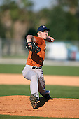 December 28, 2009:  Cody Petre (12) of the Baseball Factory Longhorns team during the Pirate City Baseball Camp & Tournament at Pirate City in Bradenton, Florida.  (Copyright Mike Janes Photography)