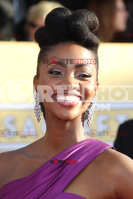 LOS ANGELES, CA - JANUARY 27: Teyonah Parris at The 19th Annual Screen Actors Guild Awards at the Los Angeles Shrine Exposition Center in Los Angeles, California. January 27, 2013. Credit: mpi27/MediaPunch Inc. /NortePhoto /NortePhoto