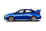 Car Driver side profile view of a 2017 Subaru WRX STI - 4 Door Sedan Side View