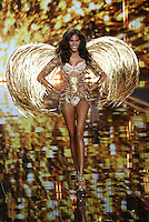 Cindy Bruna on the runway at the Victoria's Secret Fashion Show 2014 London held at Earl's Court, London. 02/12/2014 Picture by: James Smith / Featureflash