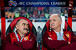 Guangzhou Evergrande Head Coach Luiz Felipe Scolari (R) and his assistant Flavio da Cunha Teixeira (L) during the AFC Champions League 2017 Group G match between Guangzhou Evergrande FC (CHN) vs Kawasaki Frontale (JPN) at the Tianhe Stadium on 14 March 2017 in Guangzhou, China. Photo by Marcio Rodrigo Machado / Power Sport Images
