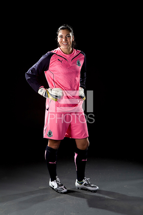 Hope Solo, WPS promotional photo shoot, 2009.