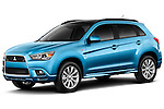 Front driver side view of a 2011 Mitsubishi Outlander Sport SE