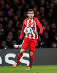 Atletico Madrid's Angel Correa in action during the Champions League Group C match at the Stamford Bridge, London. Picture date: December 5th 2017. Picture credit should read: David Klein/Sportimage