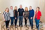 Flesk Valley Rowing Club Table Quiz fundraiser in the Oaks Hotel, Killarney last Saturday night. Pictured are l-r Jillian O'Neill, Michael Mac Sweeney, Norma Jane Leane, Denis O'Donoghue (chairman of Flesk Valley RC), Esther Brosnan, Rory Leane and Wiebke McGuire.
