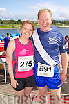from left Sinead Horgan and her brother Bob Walsh  pictured at the Rose of Tralee International 10k Race in Tralee on Sunday.