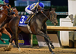 June 15, 2019: Elate, trained by Bill Mott, wins the Fleur de Lis (G2) at Churchill Downs on June 15, 2019 in Louisville, KY. Jessica Morgan/ESW/CSM