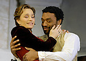 The Seagull by Anton Chekhov, directed by Ian Rickson with Kristin Scott Thomas as Arkadina,Chiwetel Ejiofor as Trigorin. Opens at the The Royal Court Theatre on 25/1/07      CREDIT Geraint Lewis