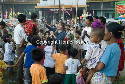 Sittwe Burma Full Moon festival.