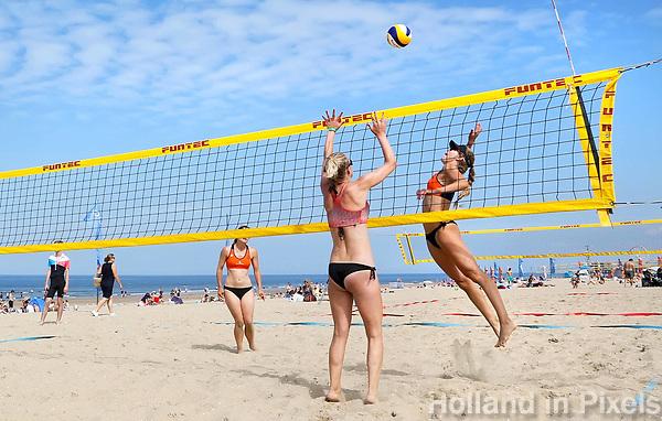 Nederland Scheveningen  2017 .  Summer Beach Volleyball Circuit.   Foto Berlinda van Dam / Hollandse Hoogte