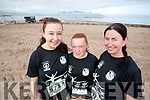 Pictured at the Brandon Bay Half Marathon and 10k on Saturday were Denise, Kayleith and Mary Williams (Fenit)