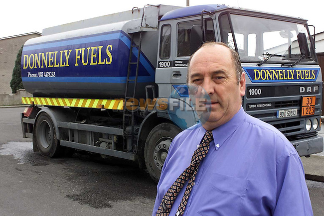 Mattie Donnelly of Donnelly Fuels..Picture Paul Mohan Newsfile