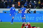 30.11.2019, PreZero-Arena, Sinsheim, GER, 1. FBL, TSG 1899 Hoffenheim vs. Fortuna Duesseldorf, <br /> <br /> DFL REGULATIONS PROHIBIT ANY USE OF PHOTOGRAPHS AS IMAGE SEQUENCES AND/OR QUASI-VIDEO.<br /> <br /> im Bild: Frust bei Pavel Kaderabek (TSG Hoffenheim #3), Stefan Posch (TSG 1899 Hoffenheim #38)<br /> <br /> Foto © nordphoto / Fabisch