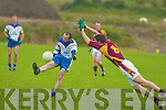 Kieran Foley Keel has his attempt for a point blocked by Duaghs Anthony Maher...   Copyright Kerry's Eye 2008