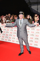 Danny Baker at the National TV Awards 2017 held at the O2 Arena, Greenwich, London. <br /> 25th January  2017<br /> Picture: Steve Vas/Featureflash/SilverHub 0208 004 5359 sales@silverhubmedia.com