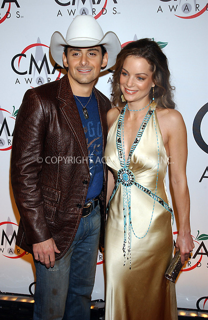 WWW.ACEPIXS.COM . . . . .....NEW YORK, NOVEMBER 15, 2005....Brad Paisley and Kimberly Williams arriving to the 39th Annual Country Music Awards held at Madison Square Garden. ....Please byline: KRISTIN CALLAHAN - ACE PICTURES.. . . . . . ..Ace Pictures, Inc:  ..Philip Vaughan (212) 243-8787 or (646) 679 0430..e-mail: info@acepixs.com..web: http://www.acepixs.com