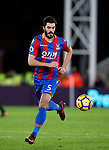 Crystal Palace's James Tomkins in action during the premier league match at Selhurst Park Stadium, London. Picture date 12th December 2017. Picture credit should read: David Klein/Sportimage