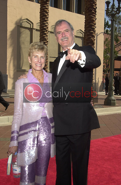 John Cleese and wife Alice