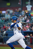 Jose Martinez (30) of the Omaha Storm Chasers at bat against the Memphis Redbirds in Pacific Coast League action at Werner Park on April 24, 2015 in Papillion, Nebraska.  (Stephen Smith/Four Seam Images)