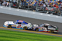 Elliott Sadler (#2) and Austin Dillon (#3)