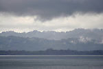 Layers of rain clouds, Alaska