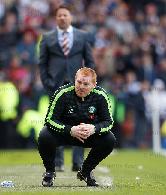 Neil Lennon dejection