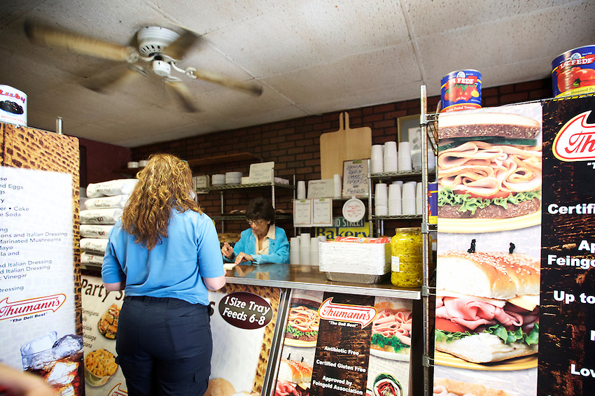 Jersey City, NJ - May 13, 2016: Second Street Bakery, an old fashioned Italian Deli in the Historic Downtown district.<br /> <br /> CREDIT: Clay Williams for Gothamist.<br /> <br /> &copy; Clay Williams / claywilliamsphoto.com