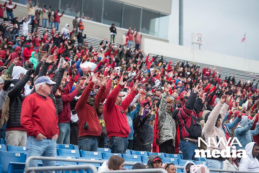 NWA Democrat-Gazette/BEN GOFF @NWABENGOFF<br /> Arkansas holds their Red vs White Game Saturday, April 7, 2018, at War Memorial Stadium in Little Rock.