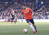 Luton Town midfielder Jonathan Smith in action during the Sky Bet League 2 match between Luton Town and Crawley Town at Kenilworth Road, Luton, England on 12 March 2016. Photo by Liam Smith.