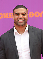 LOS ANGELES, CA July 13- Shawne Merriman, At Nickelodeon Kids' Choice Sports Awards 2017 at The Pauley Pavilion, California on July 13, 2017. Credit: Faye Sadou/MediaPunch