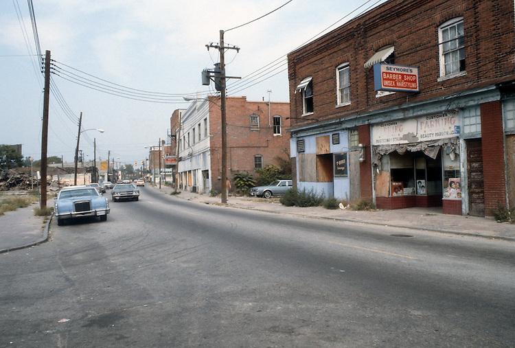 1982 October..Redevelopment.Church Street..700 BLOCK CHURCH STREET.EAST SIDE.NEAR ILA...NEG#.NRHA#..