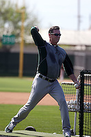 Bob Melvin (manager) - Oakland Athletics 2016 spring training (Bill Mitchell)