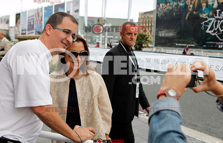 Actress and model Michelle Yeoh arrives to Maria Cristina Hotel to attend the 61 San Sebastian Film Festival, in San Sebastian, Spain. September 20, 2013. (ALTERPHOTOS/Victor Blanco) /NortePhoto