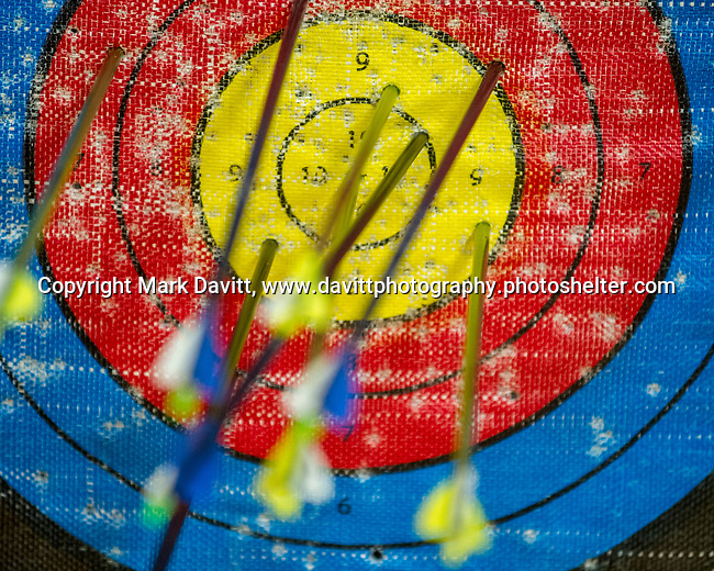Bondurant-Farrar has organized a new archery team. Practices are set up in the Middle school gym for to give the students an opportunity to get on target.