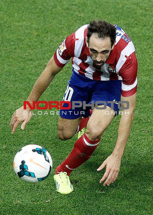 Atletico de Madrid's Juanfran Torres during La Liga match.September 24,2013. Foto © nph / Acero)