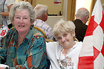 Louth Supporter Geraldine Stowe with Mary Collins at the Senior Citizens Summer Party...Photo NEWSFILE/Jenny Matthews.(Photo credit should read Jenny Matthews/NEWSFILE)....This Picture has been sent you under the condtions enclosed by:.Newsfile Ltd..The Studio,.Millmount Abbey,.Drogheda,.Co Meath..Ireland..Tel: +353(0)41-9871240.Fax: +353(0)41-9871260.GSM: +353(0)86-2500958.email: pictures@newsfile.ie.www.newsfile.ie.FTP: 193.120.102.198.