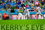 Donnchadh Walsh, Kerry in Action Against  Colm Cavanagh,Tyrone in the All Ireland Semi Final at Croke Park on Sunday.