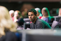 Rotterdam, The Netherlands, 14 Februari 2019, ABNAMRO World Tennis Tournament, Ahoy, Coach, Fernando Verdasco (ESP), <br /> Photo: www.tennisimages.com/Henk Koster