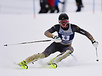 FRANCONIA, NH - MARCH 10:  Max Lukko of Colorado participates in the men's Slalom at the Division I Men's and Women's NCAA Skiing Championships held at Jackson Ski Touring on March 10, 2017 in Jackson, New Hampshire. (Photo by Gil Talbot/NCAA Photos via Getty Images)