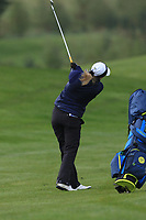 Carys Worby (WAL) on the 1st fairway during Round 1 of the Irish Girls U18 Open Stroke Play Championship at Roganstown Golf &amp; Country Club, Dublin, Ireland. 05/04/19 <br /> Picture:  Thos Caffrey / www.golffile.ie