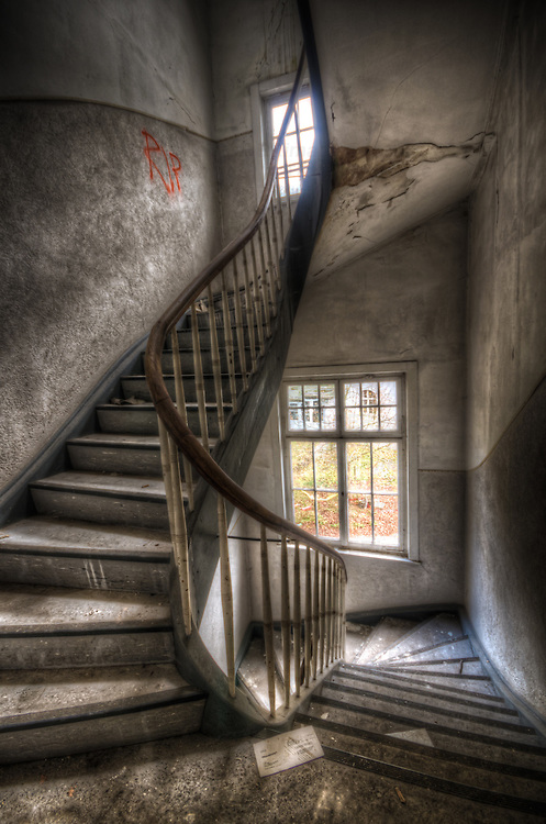 Abandoned hospital in the Black Forest.
